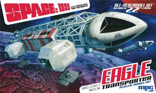 "Space 1999 Eagle Model Kit Transporter 22"" Long Model Kit By MPC"